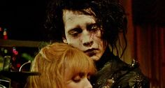 from Edward Scissorhands by Tim Burton Johnny Depp Winona Ryder, Night On Earth, Joyce Byers, Winona Forever, Forever Tattoo, Hollywood Scenes, The Age Of Innocence, Film Icon, Edward Scissorhands