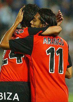 Juan Arango dio el salto en España en el Mallorca, dónde sería uno de los referentes en el equipo.