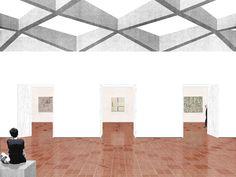 Extension of the Kunstmuseum in Sankt Gallen by Office Kersten Geers David Van Severen in collaboration with Bureau Dan Budik and B+G.