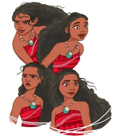 Because I just watched the new trailer and I'm super excited. I mean look at her Moana's gorgeous - 1