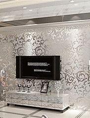 Contemporary+3d+Wallpaper+Art+Deco+Wall+Covering+PVC+Paper+Wall+Art+–+GBP+£+27.27