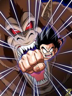 Manga Anime, Otaku Anime, Dragon Ball Gt, Buu Dbz, Tatoo Manga, Cartoon Network, Naruto Sketch Drawing, Kid Goku, Ball Drawing