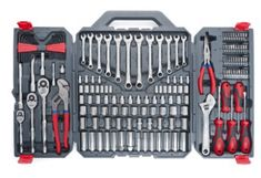 Mechanics Tool Set 170 Piece Crescent Metric Hand Wrench Home Drive Socket Tools Home Tools, Car Tools, Hand Tool Kit, Tool Set, Mechanic Tools, Auto Mechanic, Grandpa Gifts, Socket Set, Organizer