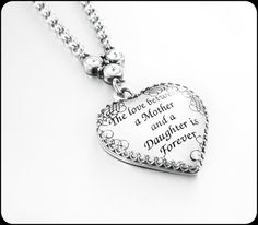 Mother Daughter Daughter Mother Jewelry by BlackberryDesigns