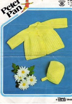 PDF Knitting Pattern Instant DownloadMatinee Coat by Pinknitting Knitting For Kids, Baby Knitting Patterns, Baby Patterns, Baby Coat, Vintage Knitting, Infant, Pdf, Trending Outfits, Handmade Gifts