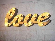 """Leuchte """"love"""""""