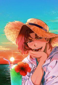 CHEDDAR ₍ᐢ ›̥̥̥ ༝ ‹̥̥̥ ᐢ₎ (@CHEDDAR_PRiE) / Twitter Anime Boys, Jojo Anime, Anime Manga, Anime Art, Jojo's Bizarre Adventure Anime, Jojo Bizzare Adventure, Wallpaper Animé, Jojo Stardust Crusaders, Jotaro Kujo