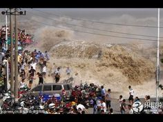 Biggest Tsunami In The World Largest Tsunami Monster Tsunami Worst Tsunami Caught On Tape Tsunami - YouTube