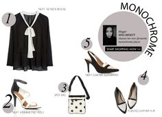 How to wear monochrome #ezibuyblog