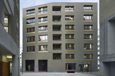 Wohnen wie in Großbritannien? Das Haus auf Stioege 2 ist ein Entwurf der Londoner Architekten Sergison Bates.