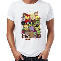 8957ad9d20 Baby Avengers Shirt - Men  Super Hero Unisex Gift T-Shirt - Nerd Clothing -  Gym Wear Sleep Wear Pajamas - Hulk Thor Iron Man Thanos Shirts
