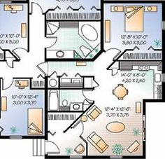 How to build in law suite Floor Plans The Effective Pictures We Offer You About Granny pods backyard Guest House Plans, Small House Floor Plans, Cottage Floor Plans, Cottage Plan, Mother In Law Cottage, Mother In Law Apartment, In Law House, Granny Pod, Backyard Cottage