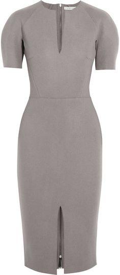 Victoria Beckham Felted Woolblend Dress