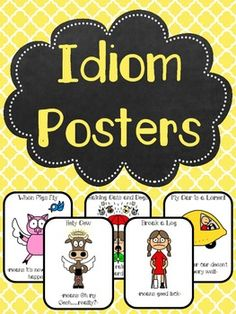Idiom Posters Pack