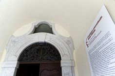 Portale d'ingresso al Convento XVIII sec.