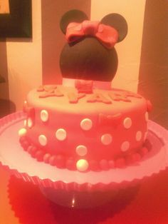 Tarta minnie!!