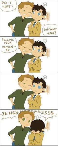 Deeeeeeeeeean. Why would you do that?? Destiel is amazing<<<<I don't even ship Destiel but this is adorable