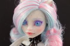 Custom Monster High doll Rochelle Haunted Repaint 2 by SumYu