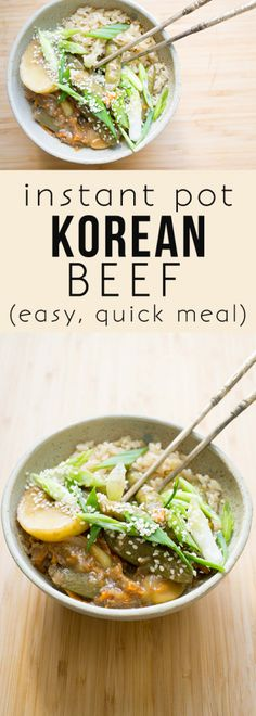 Make this healthier version of Korean Beef faster than you can order takeout!