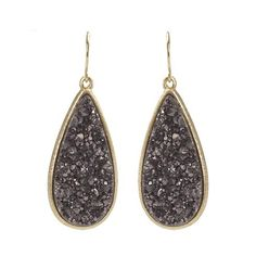 Drusy is Beautiful and Different!