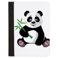 Panda with Bamboo-3 Padfolio