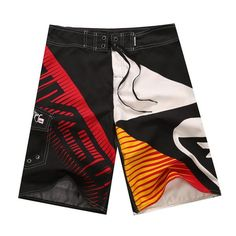 Energetic 2018 New Hot Mens Casual Printed Pocket Beach Work Casual Men Short Trouser Shorts Pants For Male Drop Shipping Handsome Appearance Board Shorts