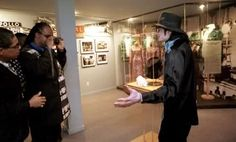 Stevie Wonder takes a picture of Michael Jackson!
