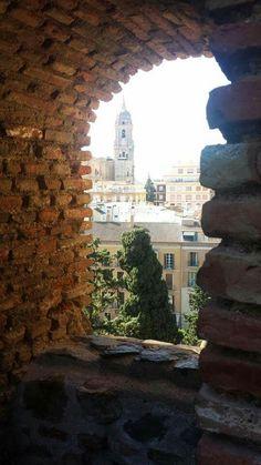 la Catedral vista desde la Alcazaba.