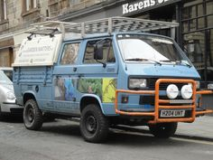Would you drive your rare and collectible VW through axle deep mud, up crazy inclines at ridiculous angles and along boulder strewn, teeth rattling bush tracks. Car Volkswagen, Volkswagen Transporter, Vw Doka, German, Van, Model, Deutsch, German Language, Vans