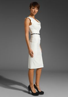BLACK HALO Classic Jackie O Dress in White at Revolve Clothing - Free Shipping!