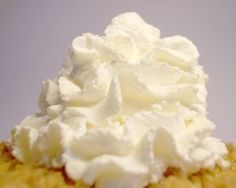 How To Stablize Whipped Cream . . . this works like a charm and allows you to pipe all kind of loveliness without the cream breaking down.