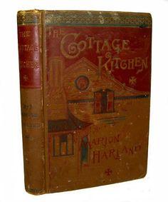 Cottage Kitchen  Victorian Recipes Vintage Marion Harland