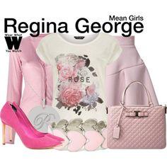 Inspired by Rachel Mcadams as Regina George in 2004's Mean Girls.