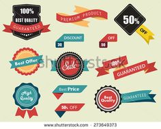 Set of Vector Labels, Stickers and Ribbons, vintage look and feel./Set of Vector Labels, Stickers and Ribbons/Set of Vector Labels, Stickers and Ribbons