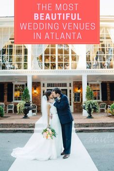 Find the best spot to tie the knot with these wedding venues in Atlanta—and be prepared to fully swoon while scrolling through these beautiful Atlanta wedding venues. Atlanta Wedding Venues, Luxury Wedding Venues, Beautiful Wedding Venues, Romantic Weddings, Event Venues, Plus Size Wedding, Industrial Chic, Wedding Day, Wedding Bells