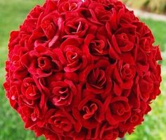 Love tight red roses