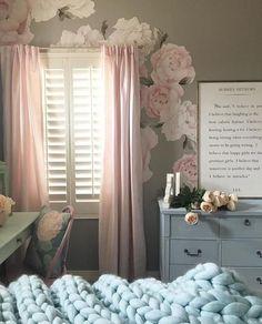 Items similar to Peony flower - Girls Nursery Decals - Baby Girls Decor - Baby Girls Room - Baby Pink - Nursery Wall Decals - Cute - Decor Peony Peonies on Etsy Nursery Decals Girl, Nursery Room, Nursery Themes, Baby Room, Nursery Decor, Girls Bedroom, Bedroom Decor, Bedrooms, Flower Wall Stickers