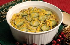 Check out some of the recipes on Braum's website. I love zucchini squash in casseroles and this Squash and Sausage Casserole looks like a winner!