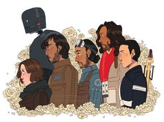 i saw rogue one on opening day and boy, lemme tell ya
