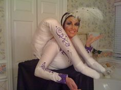 the contortunist costume - easy and fun!