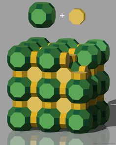 3D Tessellation with truncated cuboctahedron and octogonal prism