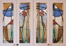 stained glass doors Stained Glass Door