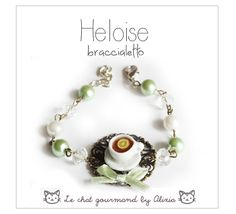 lovely bracelet handmade by Le chat gourmand