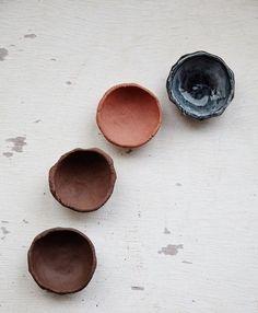 Handmade ceramic plates by Kana London