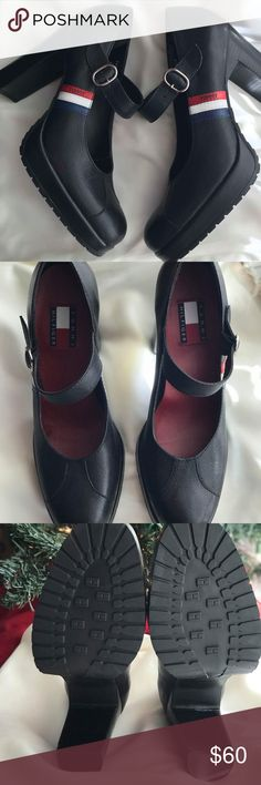 Tommy Hilfiger heels size 7 1/2 euc best offer To,my Hilfiger heels size 7 1/2 euc best offer tommy hilfiger Shoes Heels