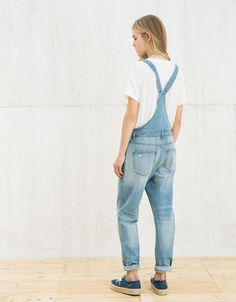 Patch detail dungarees. bers.hk/3783/019