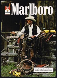 realmensmoke:  Marlboro Man 1983