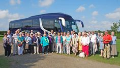 Warm welcome for coach party - Lincolnshire Wolds Railway Days Out, Places To Visit, Warm