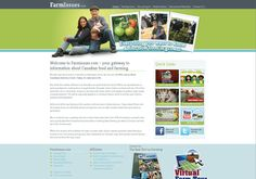 http://www.farmissues.com/virtualTour/en/index.html At this website you can take a virtual peek at barns, fields, ranches, and ranges to see how food is grown. Meet the farmers and find out what it takes to grow livestock and produce for consumption.