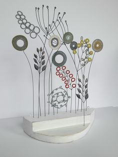 Liz Cooksey - Mixed Bed crochet & wire
